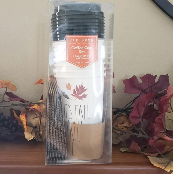 Brand new Rae Dunn FALL Y'ALL Disposable Cups